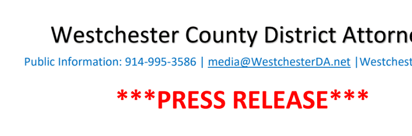 DA Scarpino Congratulates Westchester County's New Public Safety Commissioner