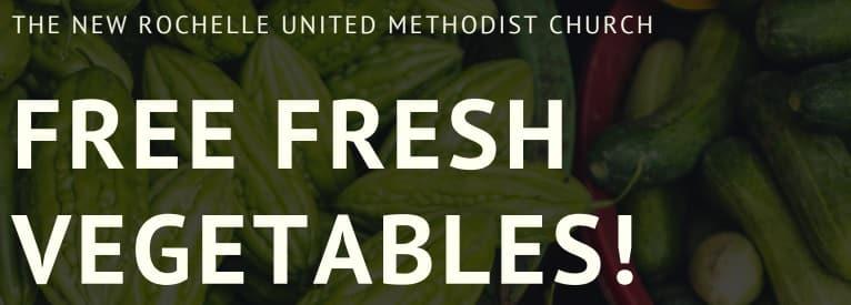 Free Fresh Vegetables
