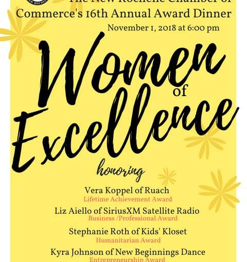 2018 Women of Excellence Honorees Announced