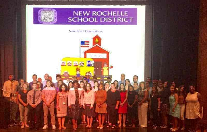 District Welcomes New Teachers, Support Staff in Orientation