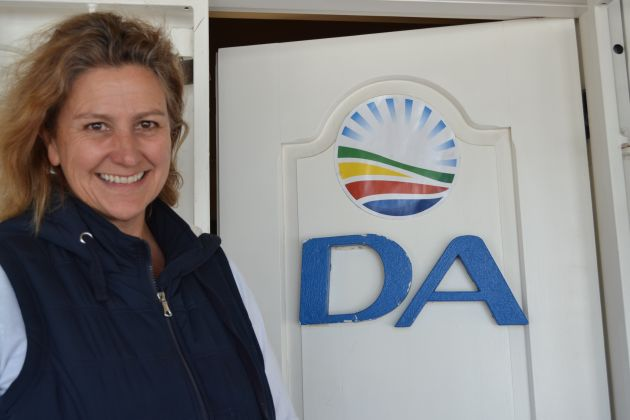 RISING IN THE RANKS: Jane Cowley, former DA caucus leader in Ndlambe, has been promoted to the provincial legislature in Bhisho by the DA's final selection panel Picture: LOUISE KNOWLES