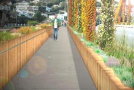 GREEN BRIDGE: An artists' conception for beautifying the Nico Malan Bridge