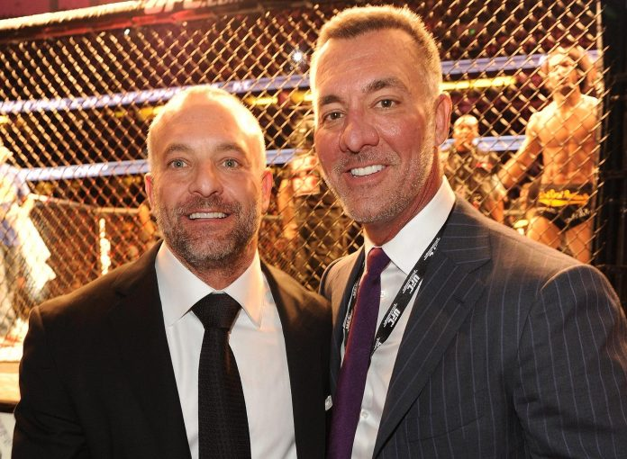 Brothers Lorenzo, left, and Frank, right, bought the struggling UFC for m