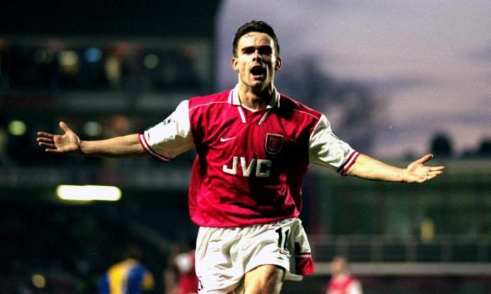 Overmars joined Arsenal from Ajax in 1997 and left three years later for Camp Nou