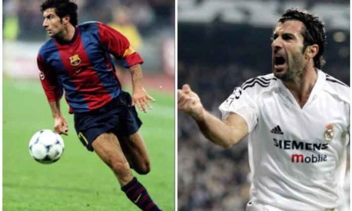 3. Luis Figo moves from Barca to Real and pigs fly