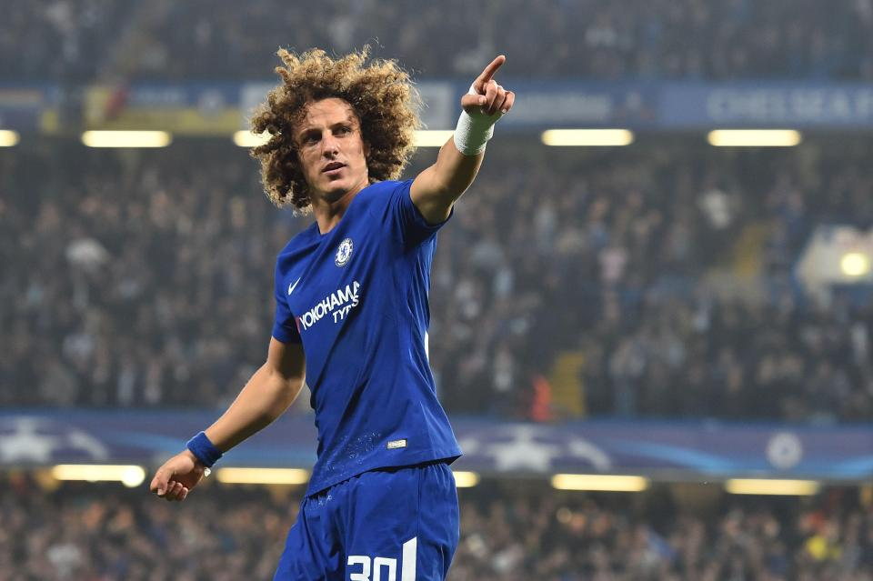 Luiz has fallen out of favour at Stamford Bridge under Antonio Conte  Chelsea interested in former Napoli boss Maurizio Sarri…and may offer David Luiz to sweeten the deal GettyImages 862862998