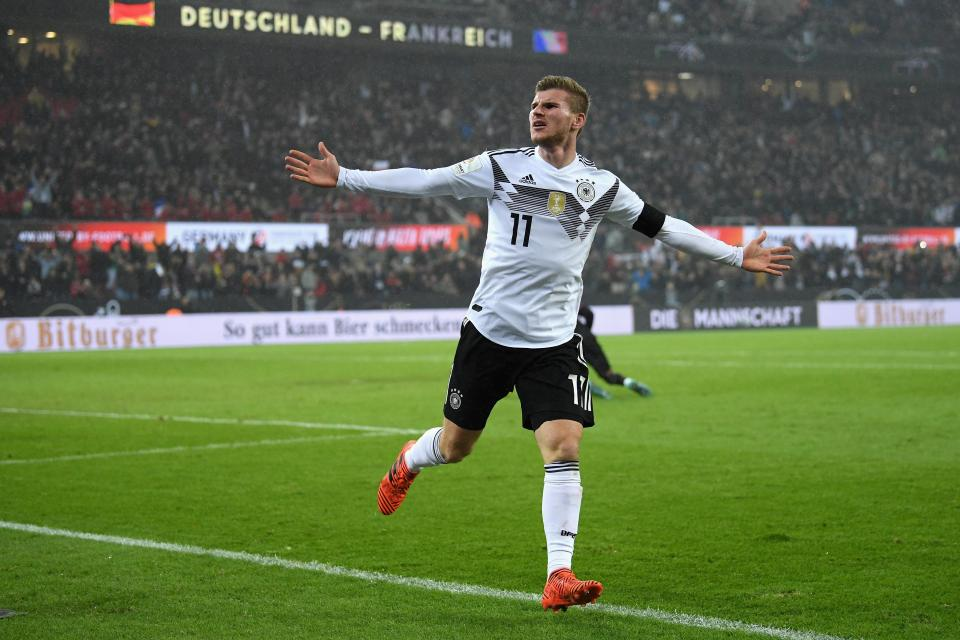 Werner could be one of the big names who secures a move away with a successful World Cup  Who is the favourite to win the Golden Boot at the World Cup in Russia this summer? GettyImages 874209446
