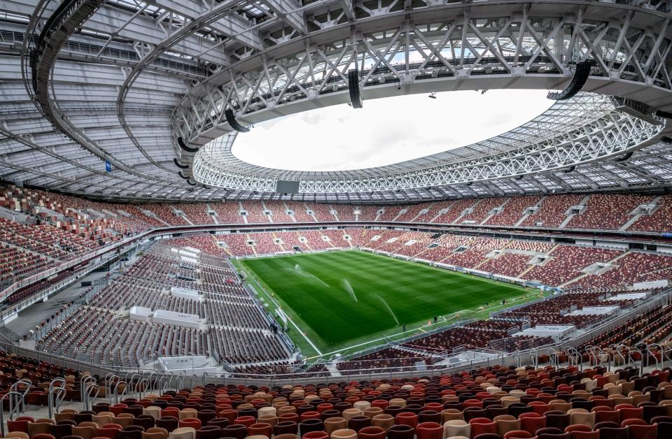 The match will take place at the Luzhniki Stadium