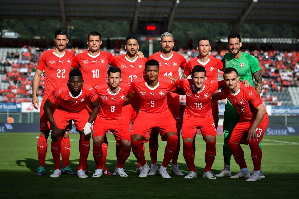 Granit Xhaka is among Switzerland's squad for the World Cup  Brazil, France, England, Germany, Spain and ALL the 32 squads selected for Russia GettyImages 970335172