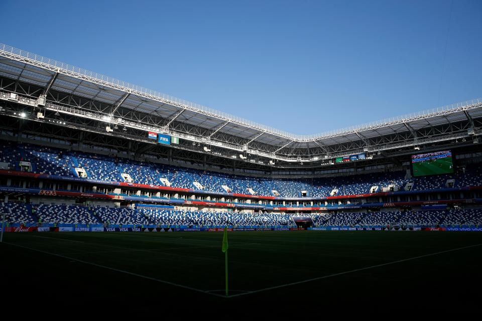 The Kaliningrad Stadium will host Serbia v Switzerland  Live commentary, stream, kick off time and confirmed team news for World Cup 2018 match GettyImages 976877682