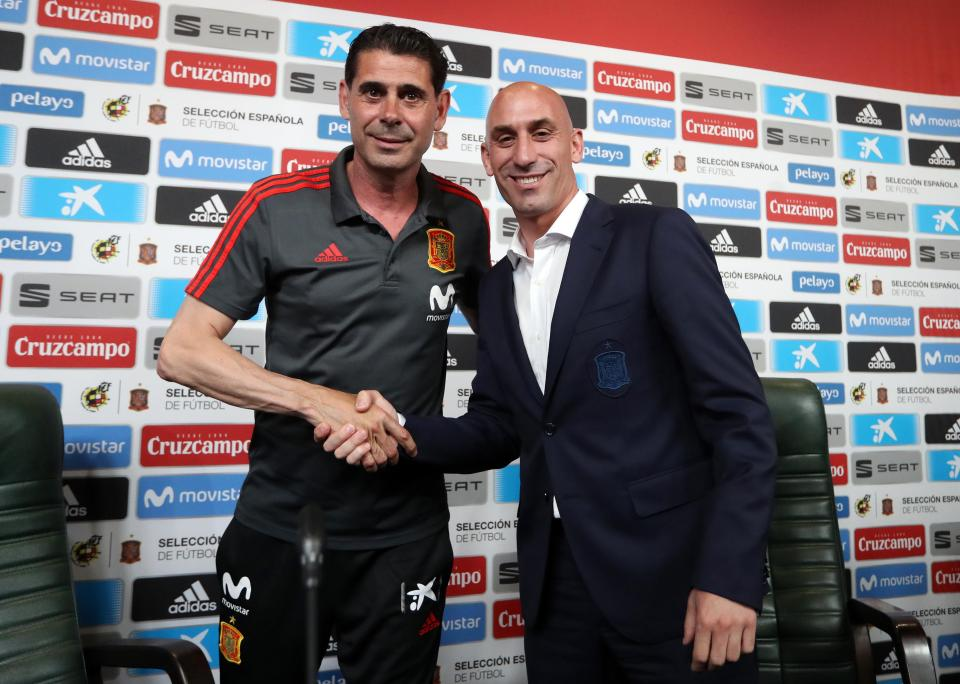 Spain legend Fernando Hierro is presented as the head coach to replace Julen Lopetegui.  World Cup 2018 preview, predicted line-ups, plus more Portugal 3