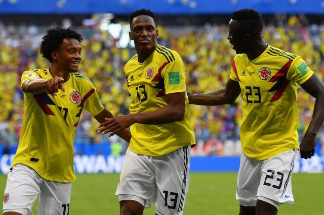 Resultado de imagem para Colombia england