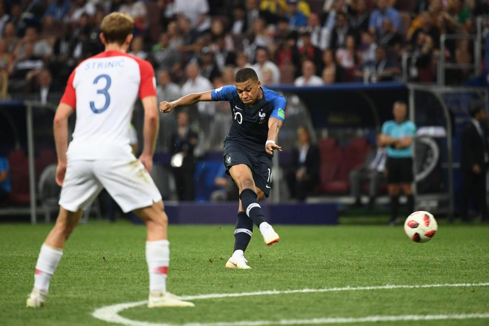 Kylian Mbappe's strike  Les Bleus win the World Cup after thrilling end to Russia 2018 GettyImages 999469242