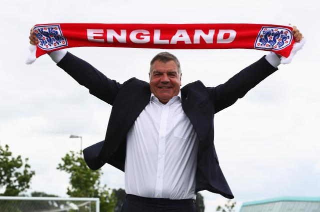 Gareth Southgate replaced Sam Allardyce