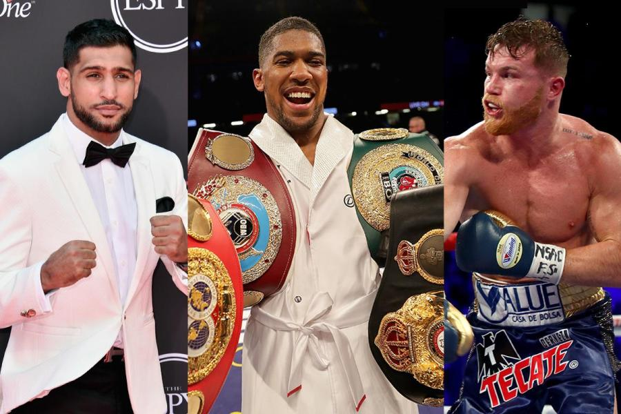 September s biggest boxing matches to look out for  including     Amir Khan  Anthony Joshua and Canelo Alvarez all go into battle in September