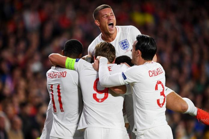 Spain had no answers for England in the first-half