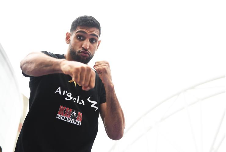 Amir Khan was last seen defeating Samuel Vargas by decision