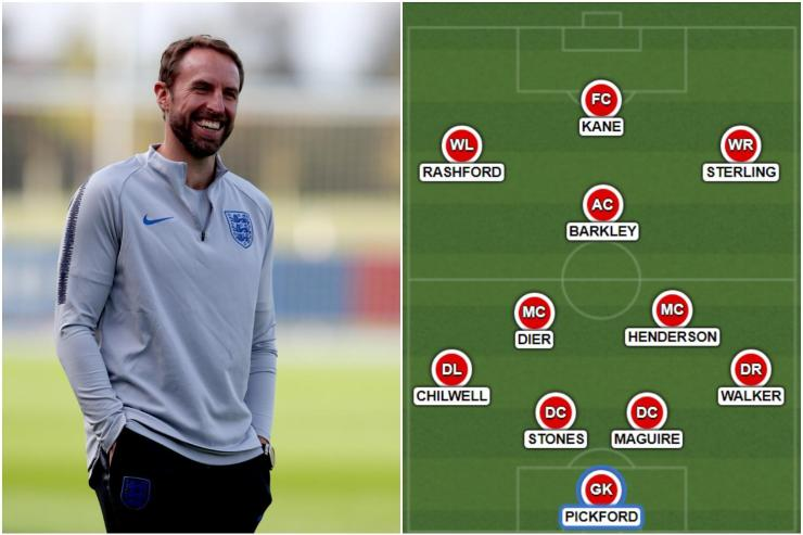 England to ditch 3-5-2 for this 4-3-3 formation