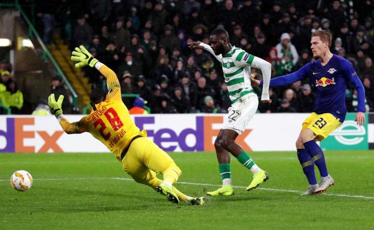 Edouard's goal gave the Hoops the crucial win