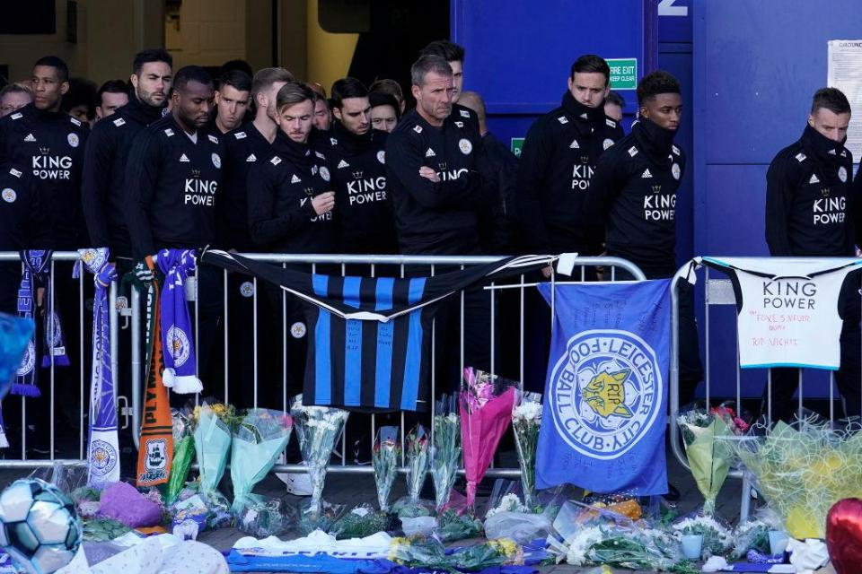 The Leicester players will fly out to Thailand for Srivaddhanaprabha's funeral straight after the Cardiff game  Jamie Vardy hopes he and Leicester team-mates can do late owner Vichai Srivaddhanaprabha proud with Premier League win over Cardiff GettyImages 1060922910