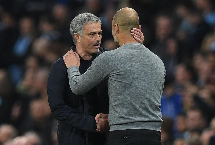 Jose Mourinho and Pep Guardiola meet again on Sunday