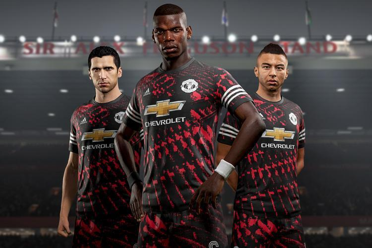 This Was The Fifa Fourth Kit That Manchester United Has Last Season Sadly It Wasn