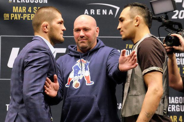 Ferguson and Nurmagmedov were never able to make the fight happen