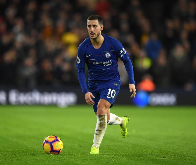 Eden Hazards Chelsea Contract Expires In