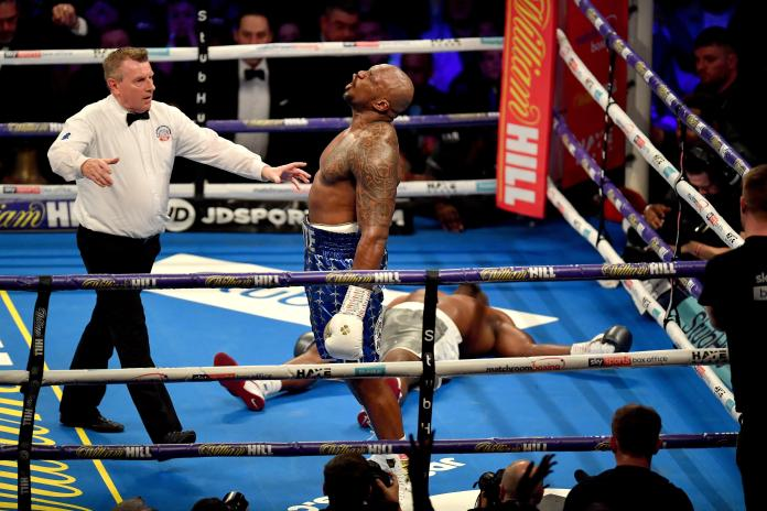 The 30-year-old flattened Dereck Chisora having already beaten Lucas Browne and Joseph Parker in 2018