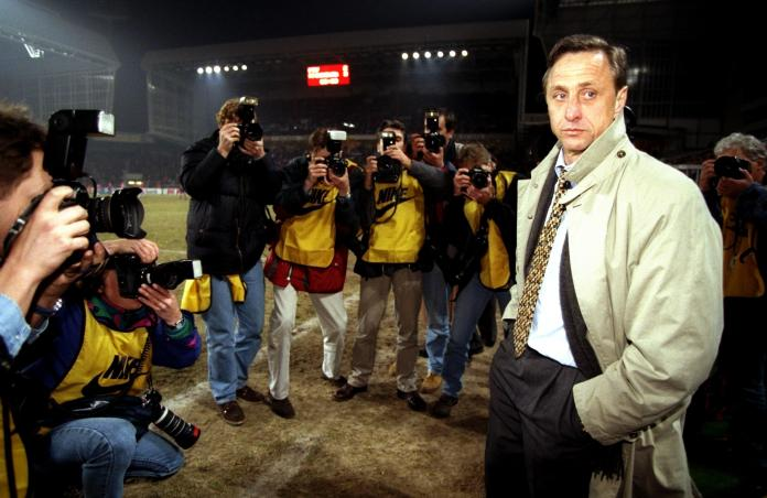 Appointing former player Johan Cruyff as manager was a masterstroke
