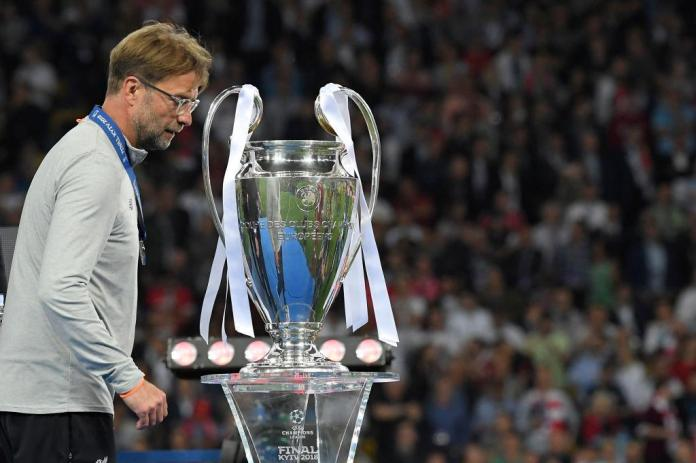 Klopp has now lost six finals in a row, taking in his spells at Borussia Dortmund and Liverpool