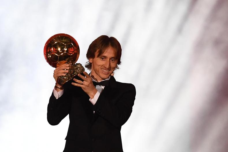 Real Madrid and Croatia midfielder Luka Modric claimed the 2018 Ballon d'Or