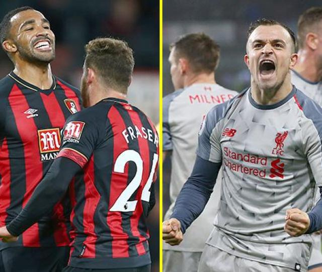 Bournemouth Vs Liverpool Match Preview And Confirmed Team News As