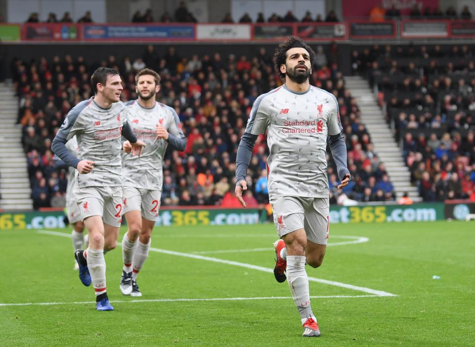 Mohamed Salah, Why Mohamed Salah is almost certain to score against Bournemouth despite just one goal in his last five Liverpool appearances