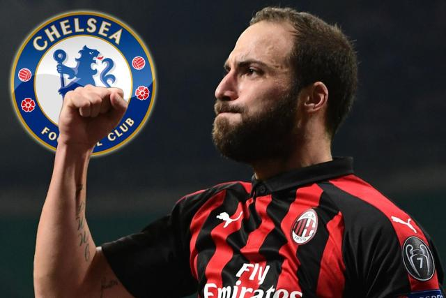 Is Higuain finally set to move to the Premier League?