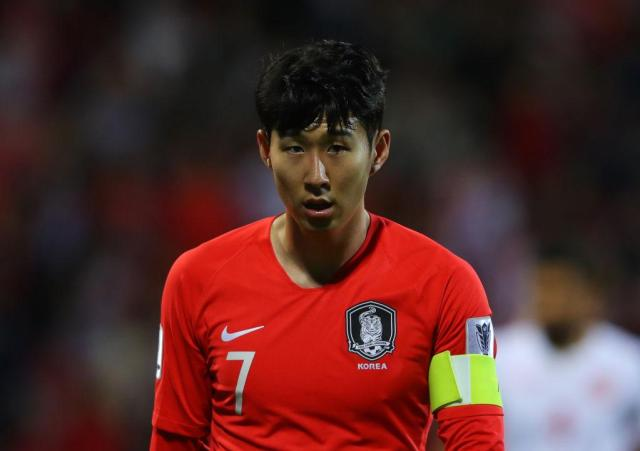 Son played all three of South Korea's matches after arriving late for the tournament