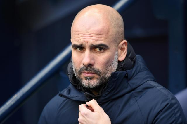 Pep Guardiola's side face Newcastle on Tuesday