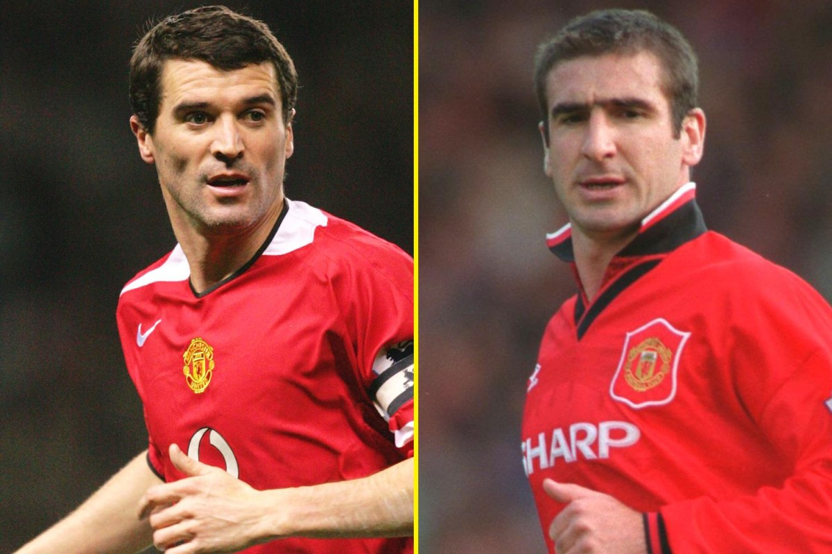 Quizzes · can you name manchester united's xi from roy keane's debut in 1993? Manchester United legends Roy Keane and Eric Cantona are ...