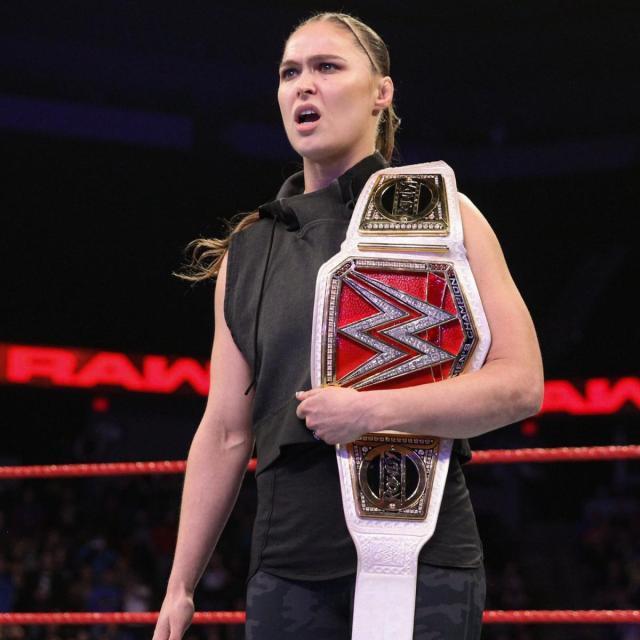 Ronda Rousey is still unbeaten in the WWE