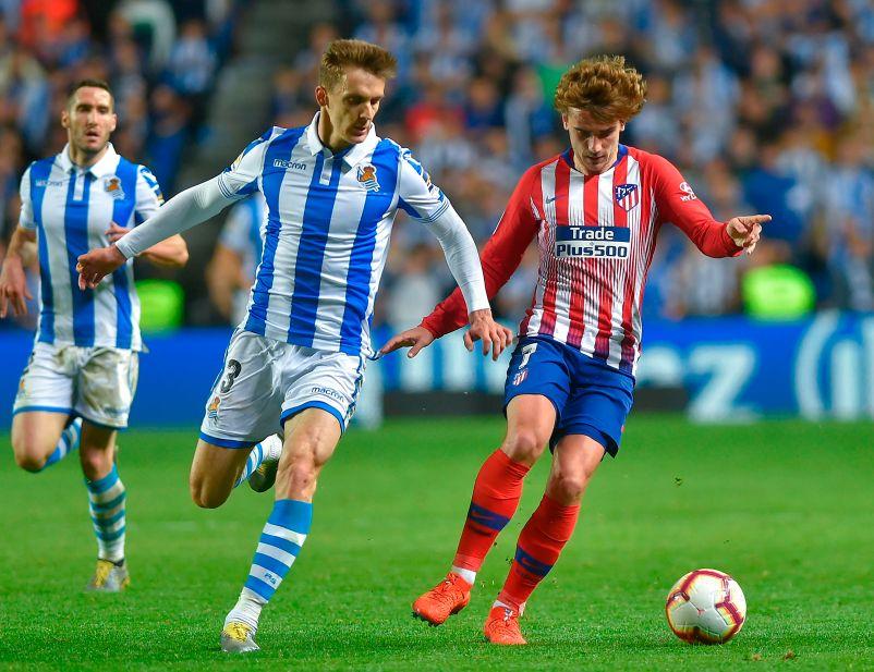 Real Sociedad defender Diego Llorente (LEFT) is a target for West Ham