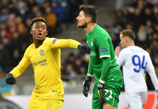 Hudson-Odoi bagged Chelsea's final goal of the game