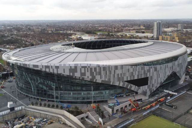 Tottenham's new stadium is set to finally open next month
