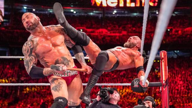 Batista and Triple H put on a great match at WrestleMania 35