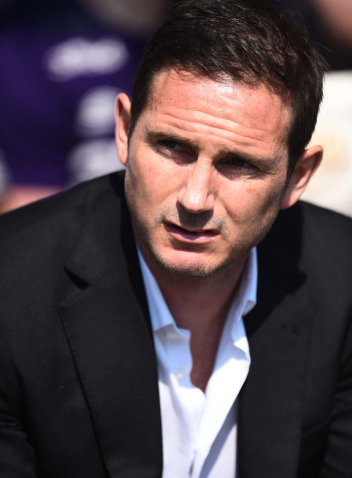 Lampard was unhappy with some of the decisions the referee made during the game