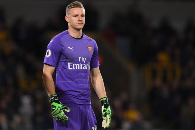 Bernd Leno won the starting position from Petr Cech