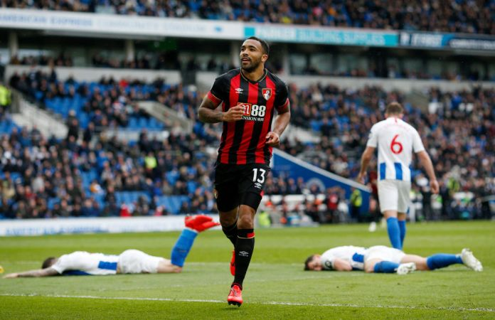 Wilson celebrates his goal against a side of Brighton that was everywhere
