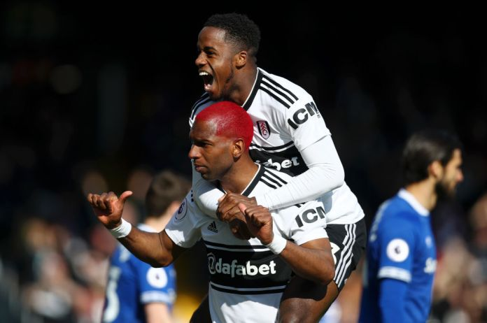 The two Ryans - Babel and Sessegnon celebrate Fulham's victory