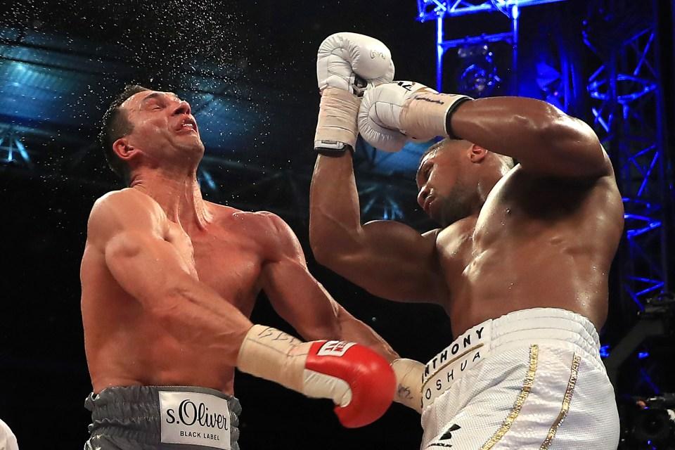 Joshua's win over Klitschko is always compared to Fury's