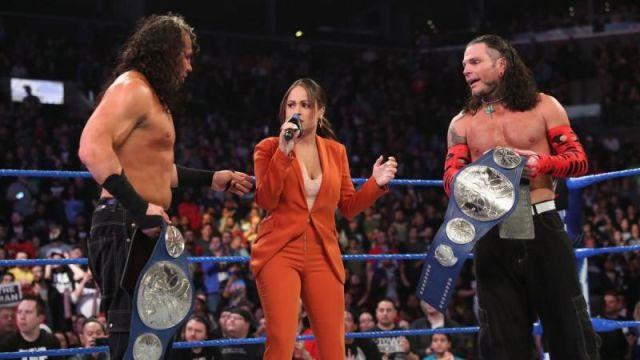 The Hardy Boyz are now eight-time champs