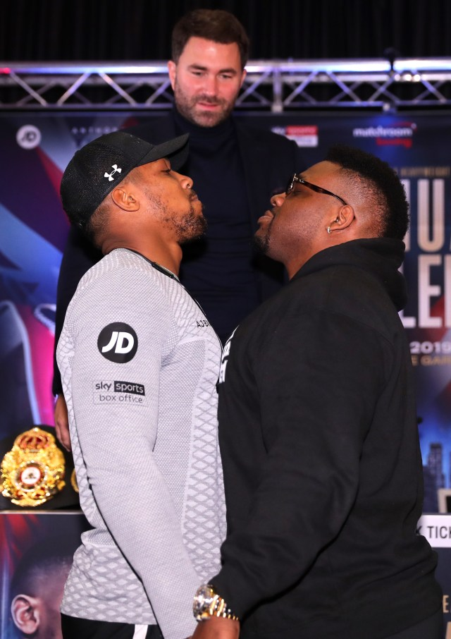 It's unclear whether Anthony Joshua vs Jarrell Miller will go ahead